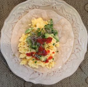 Paleo Breakfast Wrap